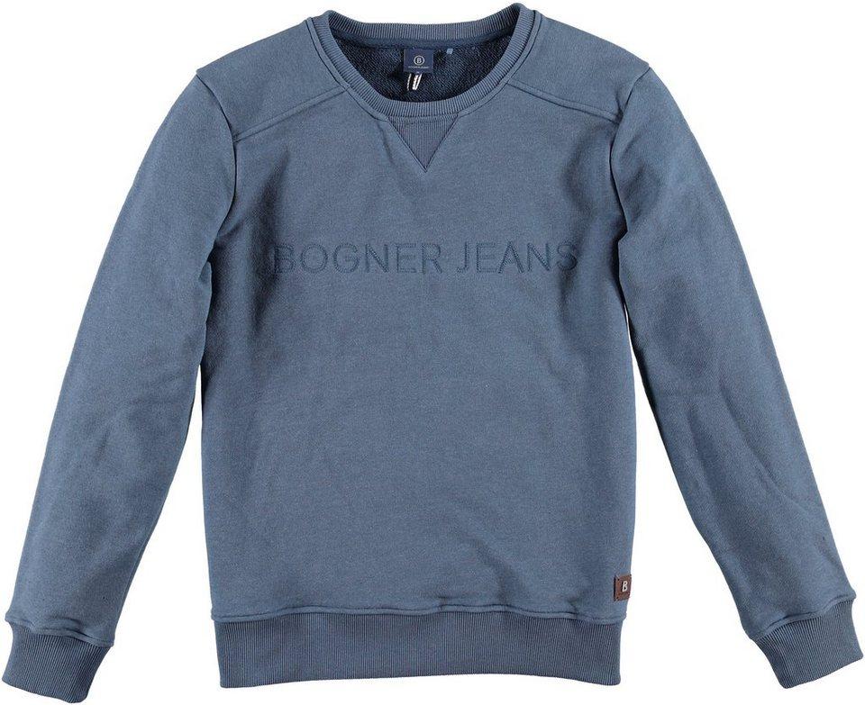 Bogner Jeans Sweatshirt in total eclipse