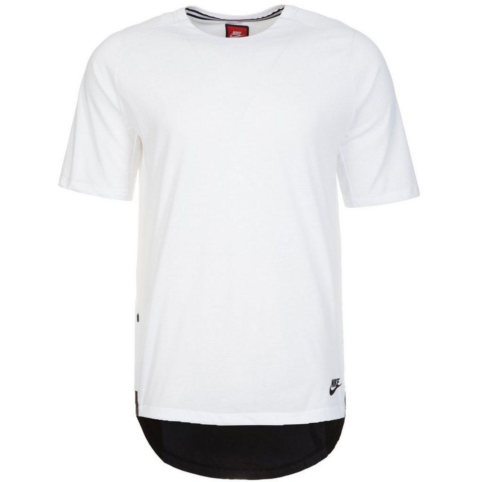 Nike Sportswear Bonded T-Shirt Herren in weiß / schwarz