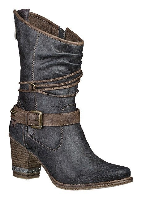 MUSTANG SHOES Stiefelette in graphit