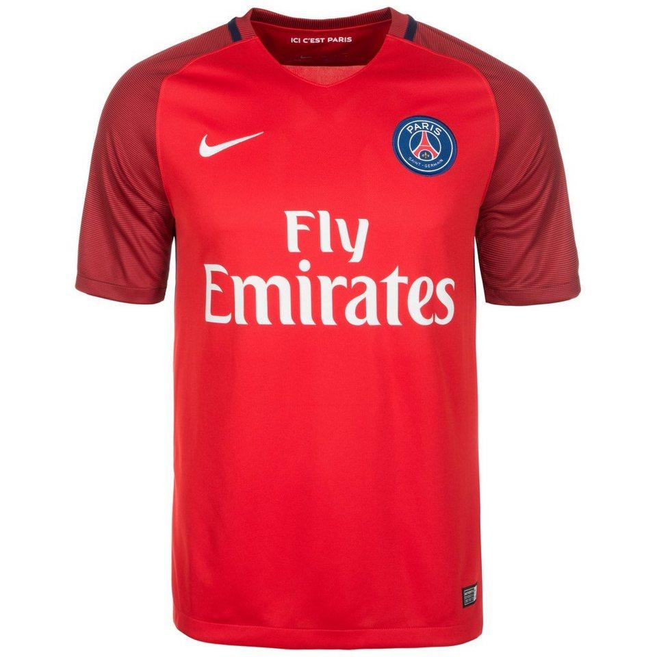 NIKE Paris Saint-Germain Trikot Away 2016/2017 Herren in rot / blau