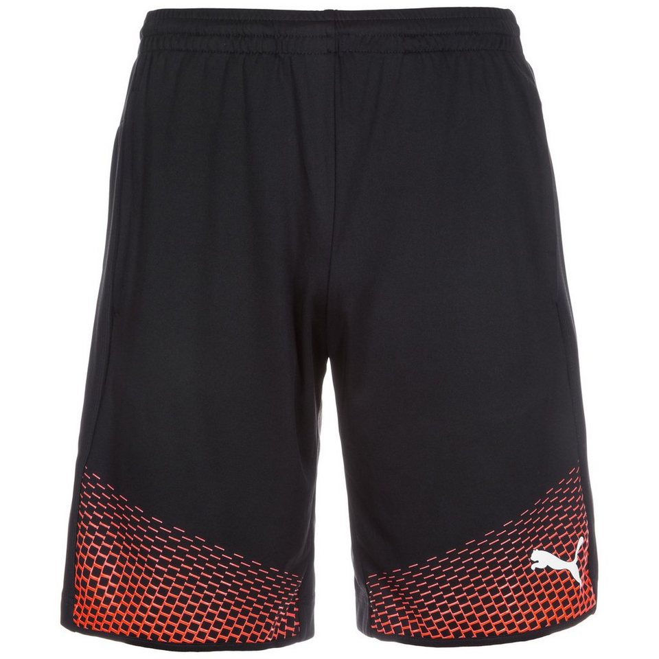 PUMA IT evoTRG Touch Short Herren in schwarz / neonrot