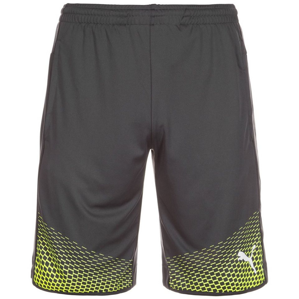 PUMA IT evoTRG Touch Short Herren in grau / neongelb