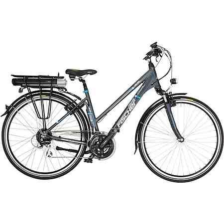 FISCHER Damen Trekking E-Bike, 36V/250W Hinterradmotor, 28 Zoll, 24 Gang-Shimano Acera Kettensch.