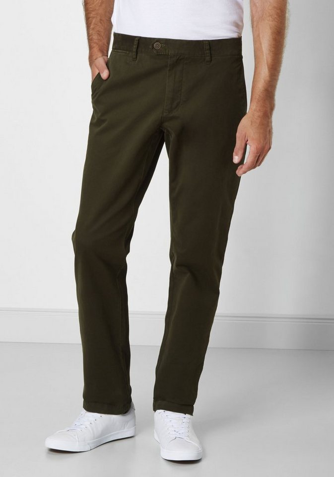 Redpoint Stretch Chino »Vancouver« in green