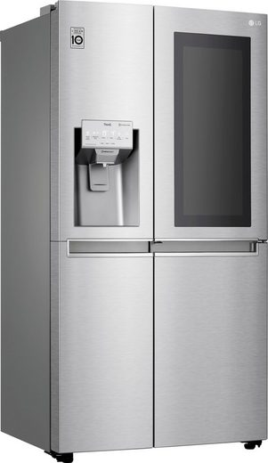 LG Side-by-Side GSX961NEAZ, 179 cm hoch, 91,2 cm breit, InstaView Door-in-Door™