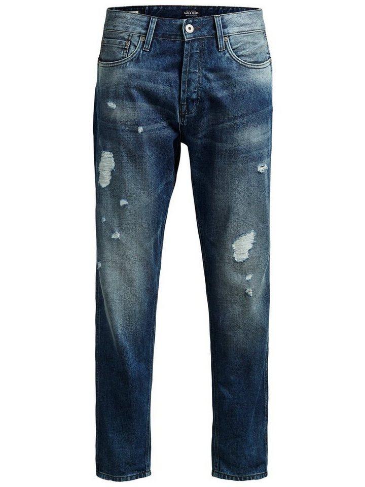 Jack & Jones Erik Thomas AKM 970 Anti Fit Jeans in Blue Denim
