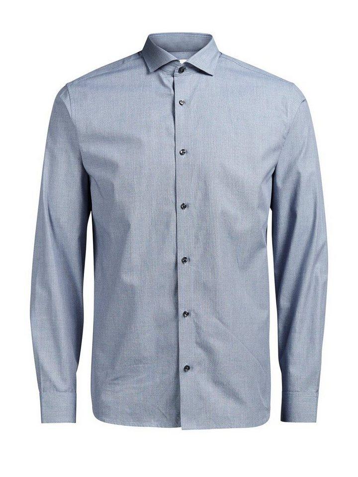 Jack & Jones Formelles Langarmhemd in Navy Blazer