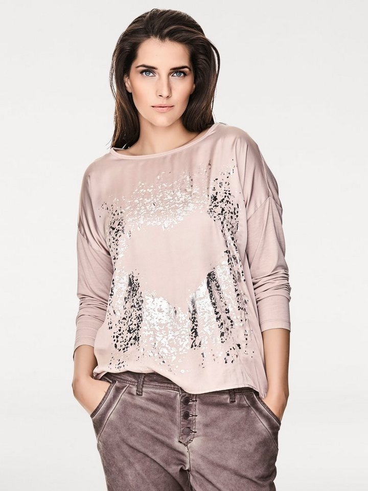 B.C. BEST CONNECTIONS by Heine Oversized-Shirt in rosa