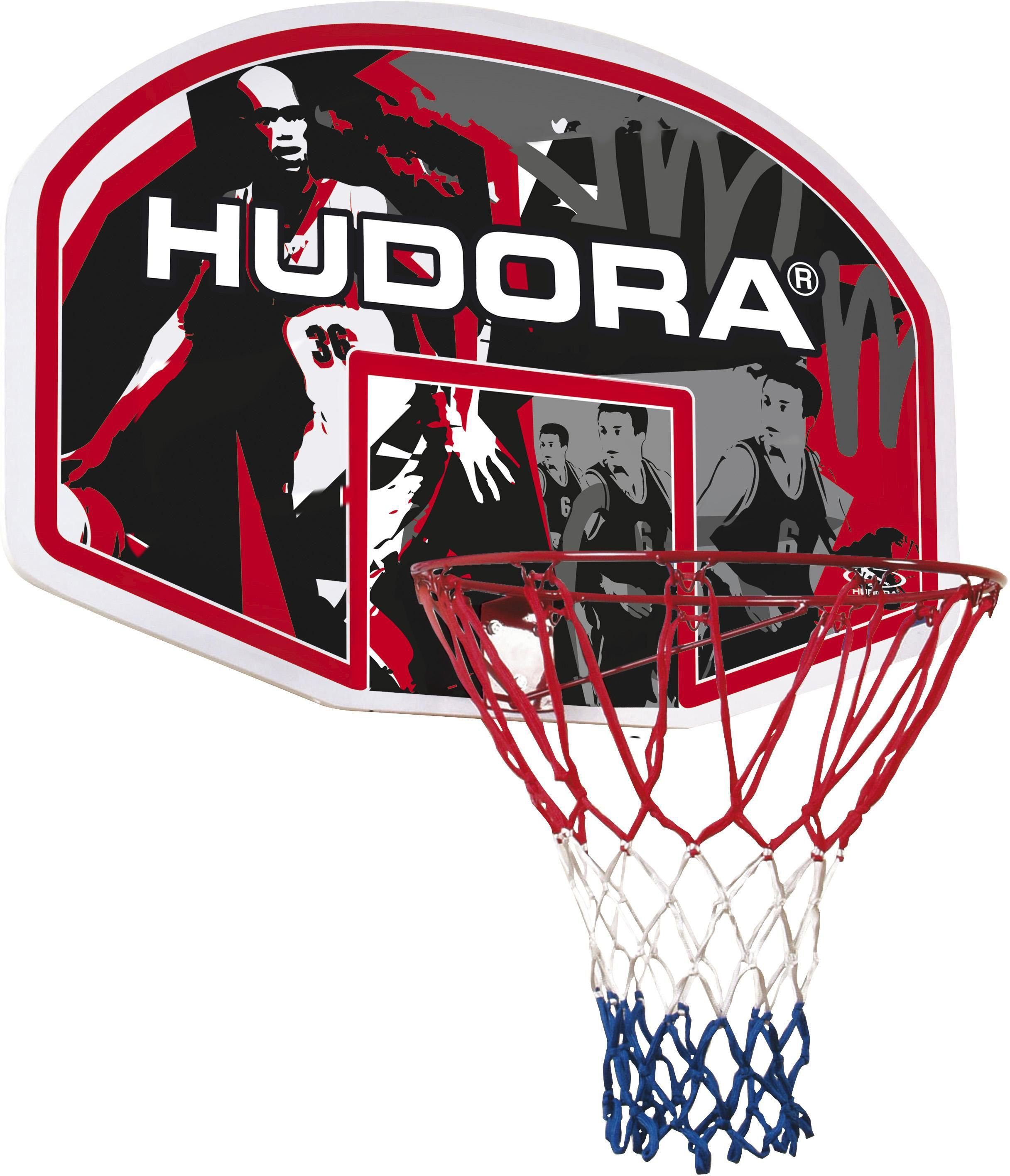 Hudora Basketballkorbset, In-/Outdoor