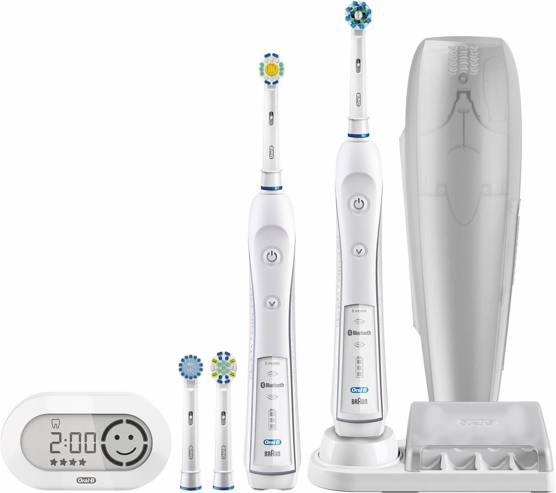 Oral-B Elektrische Zahnbürste PRO 6500, mit 2. Handstück & Bluetooth
