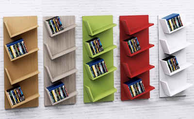 Bücherregal wandhängend  Wandregal praktisch & elegant » online kaufen   OTTO
