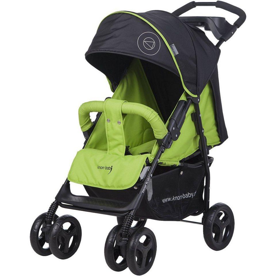 knorr-baby Sportwagen Vero XL Happy Colour, grün in grün