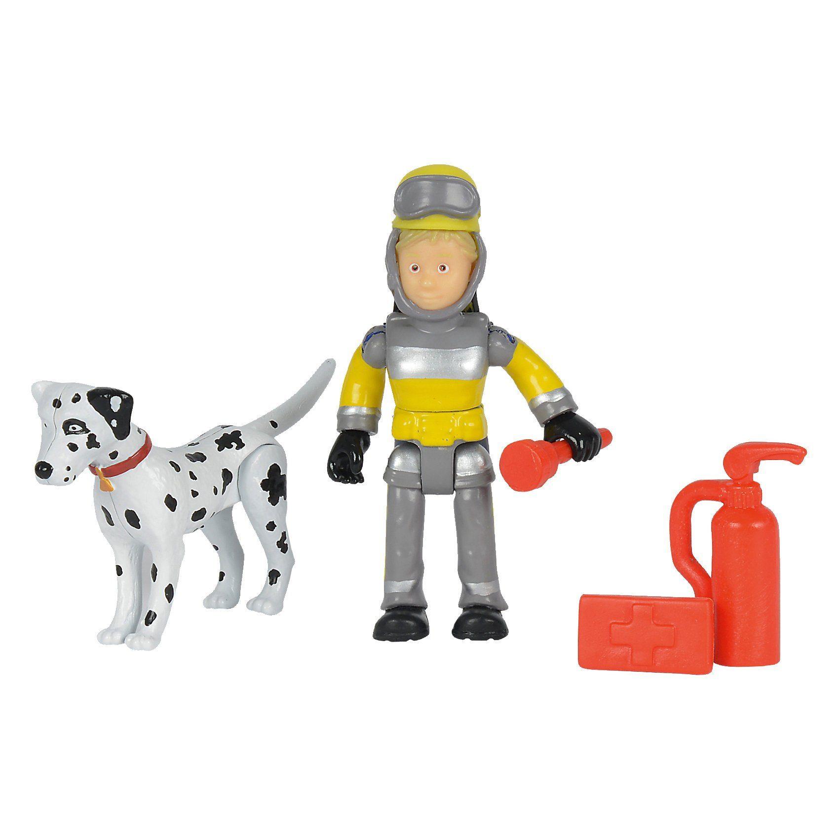 Simba Feuerwehrmann Sam - Tierrettung Figuren Set Penny + Schnuffi
