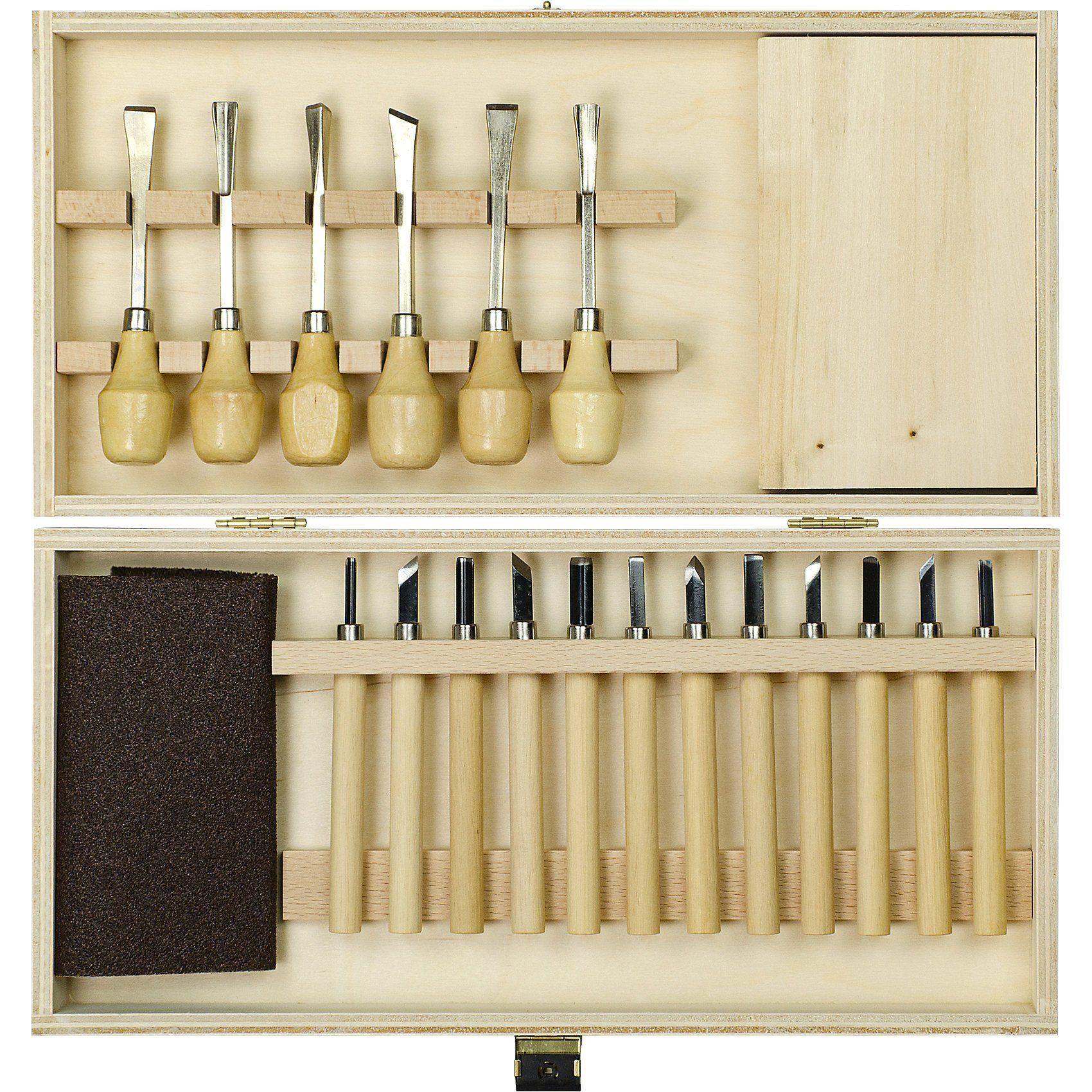 Pebaro Holz-Schnitzbox