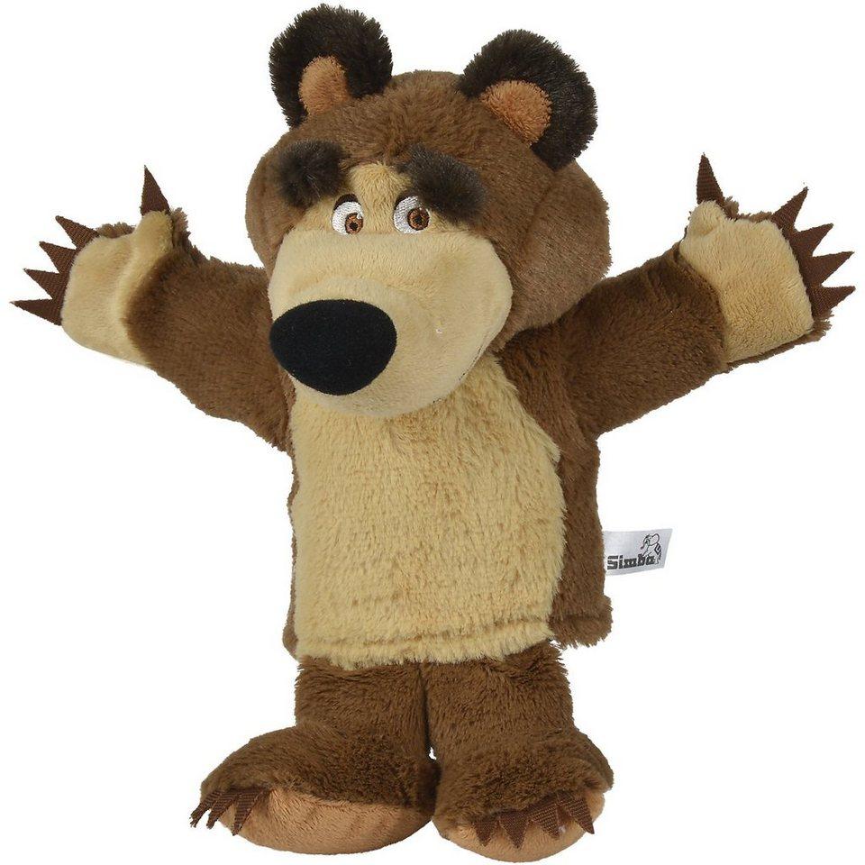 Simba Mascha Plüschbär Handpuppe