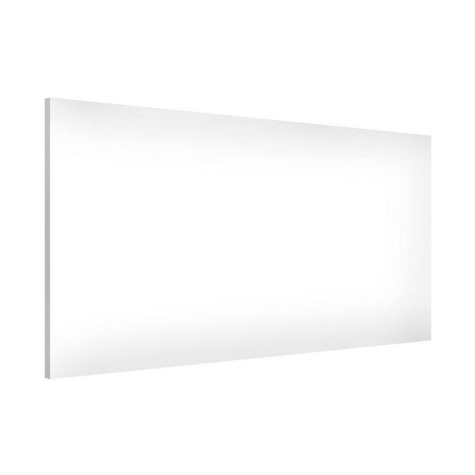 Bilderwelten Magnettafel Quer 37cm x 78cm »Colour White« in Farbig