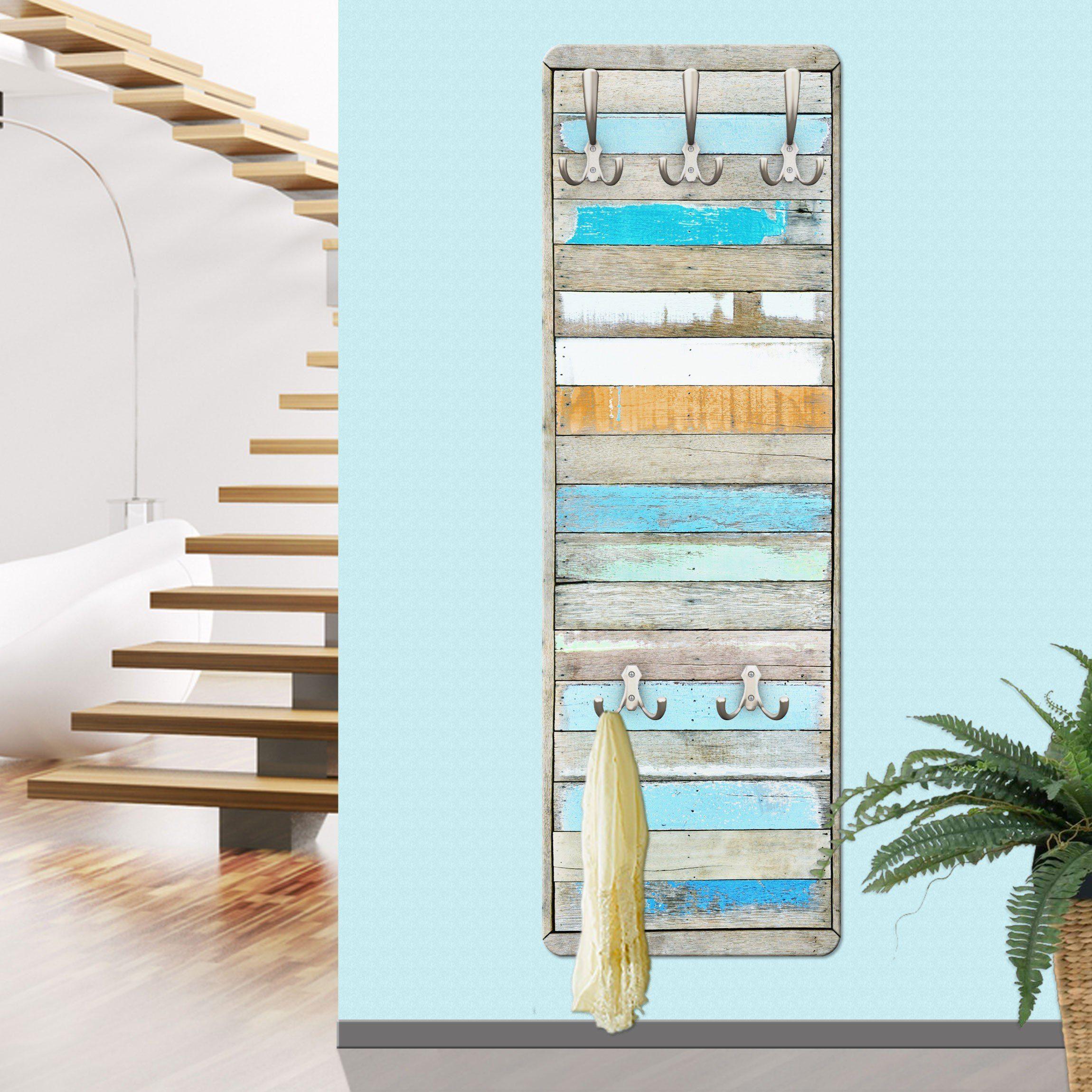 Bilderwelten Garderobe Vintage 139x46x2cm »Shelves of the Sea«