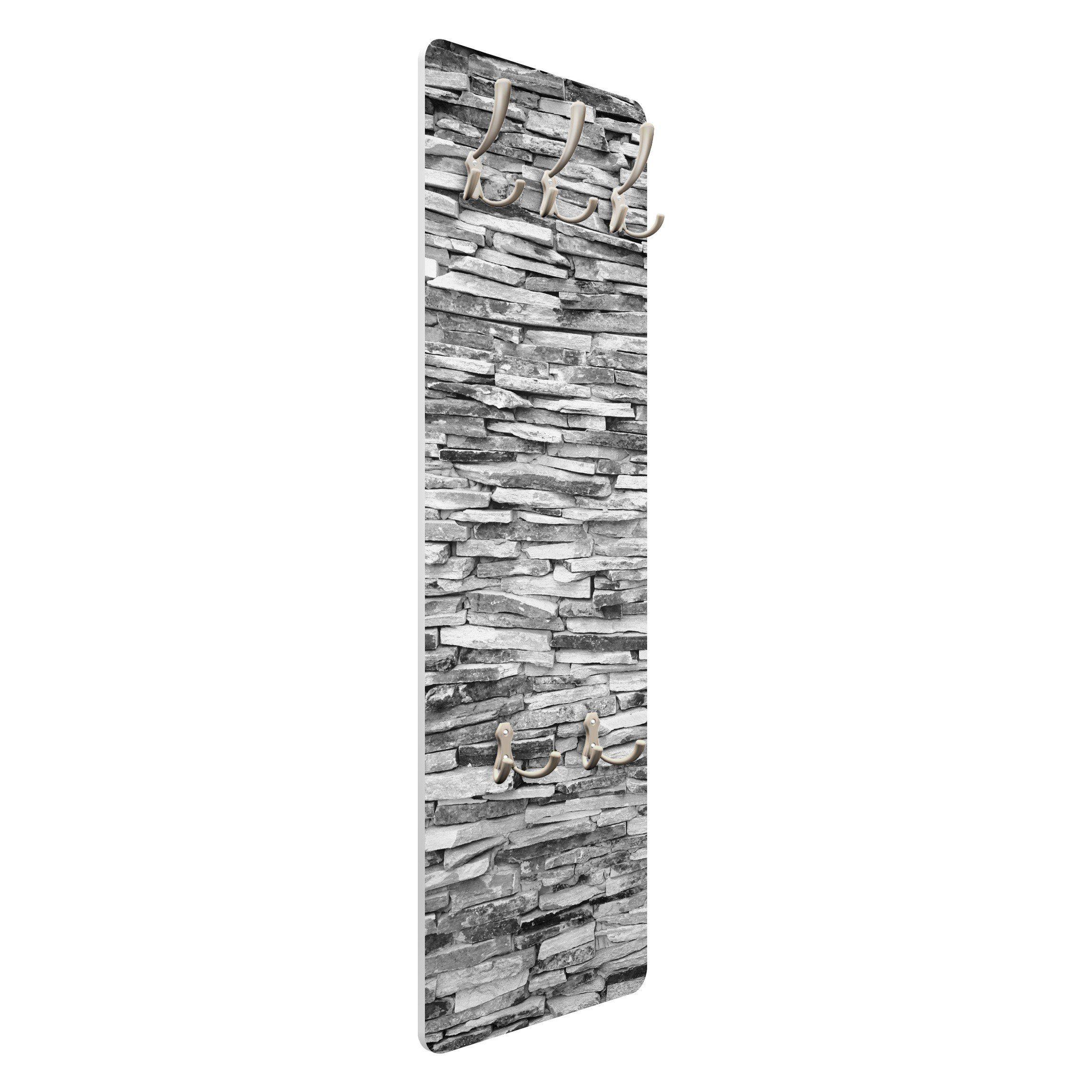 Bilderwelten Wandgarderobe 139x46x2cm »Arizona Stonewall«