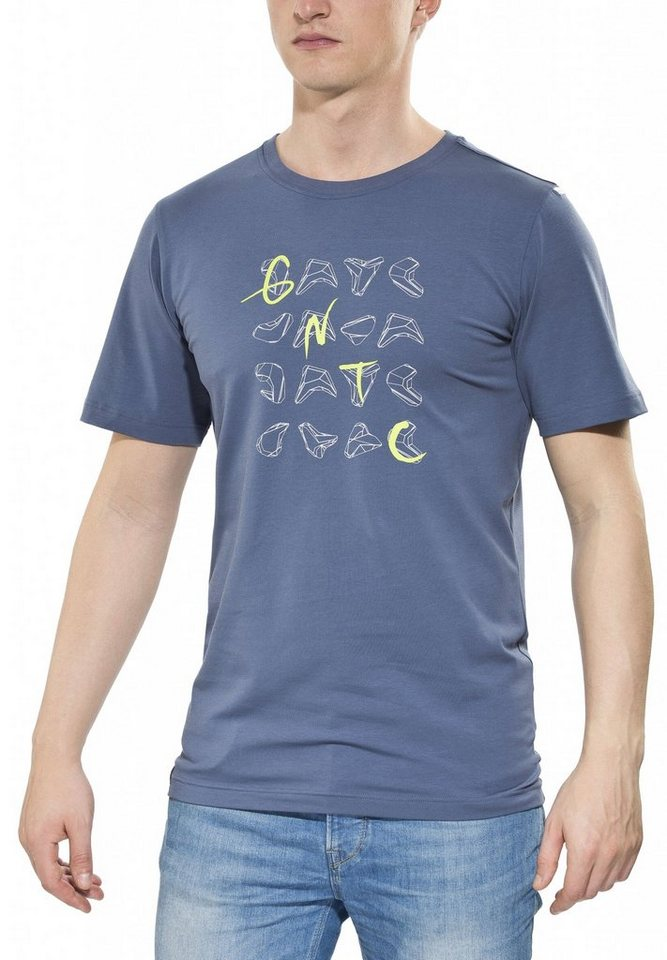 Gentic T-Shirt »Holdgame Tee Men« in blau
