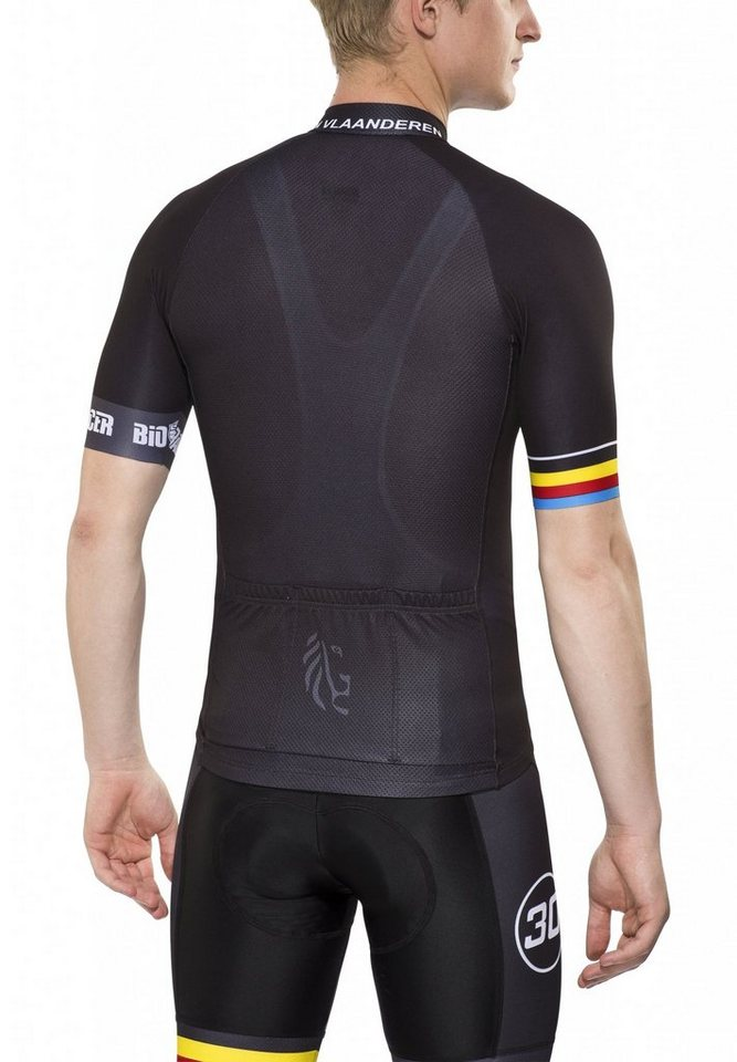 Bioracer Radtrikot »Van Vlaanderen Pro Race Jersey Men« in schwarz