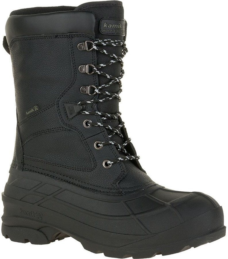Kamik Stiefel »Nationpro Winter Boots Men« in schwarz