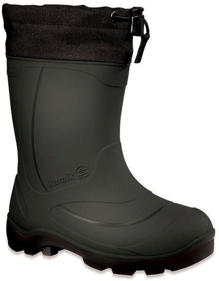 Kamik Stiefel »Snobuster1 Rubber Boots Kids« in schwarz