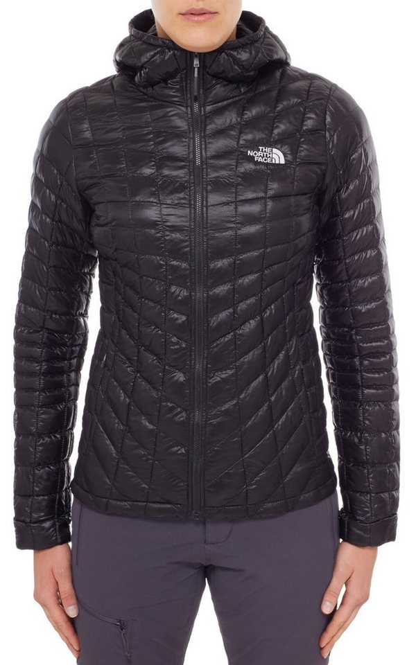 The North Face Outdoorjacke »ThermoBall Hoodie Women« in schwarz