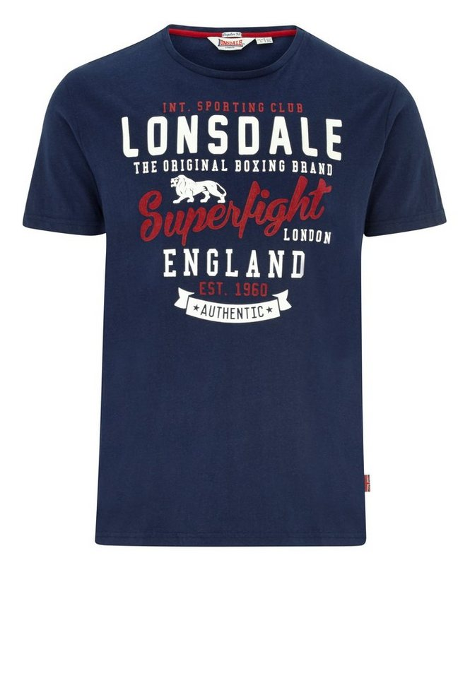 Lonsdale T-Shirt in Navy