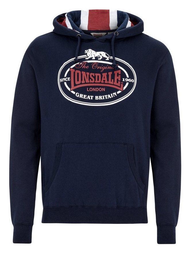 Lonsdale Sweatshirt »LUTON« in Navy