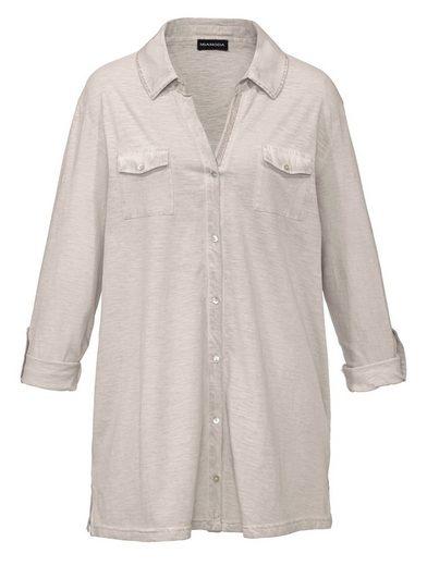 MIAMODA Bluse in trageangenehmer Shirtqualität