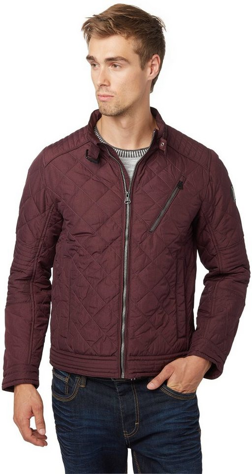 TOM TAILOR Jacke »quilted jacket« in gipsy purple