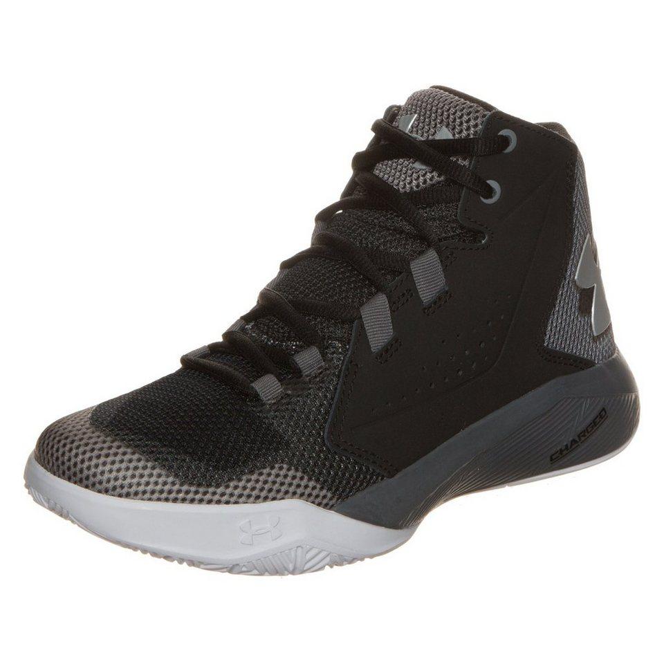 Under Armour® BGS Torch Fade Basketballschuh Kinder in schwarz / grau