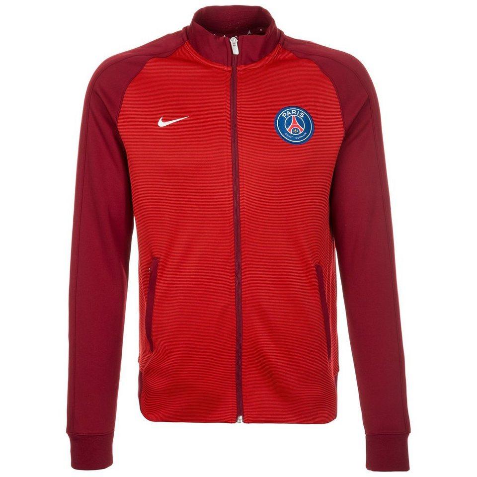 NIKE Paris Saint-Germain Authentic N98 Track Jacke Herren in rot / weiß