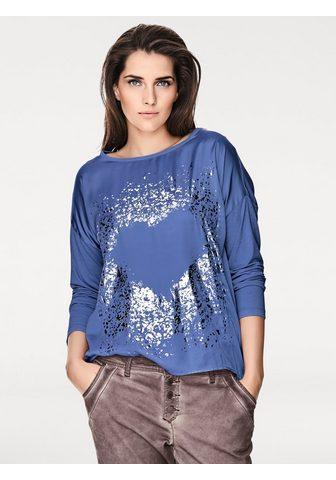 CASUAL объемный футболка с Metallic-Ef...