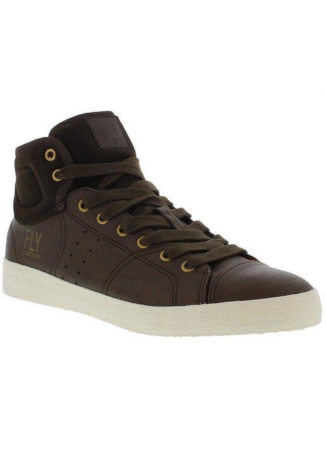 FLY LONDON Sneaker,Schnürschuhe,Herrensneaker,high »BALK837FLY« in braun
