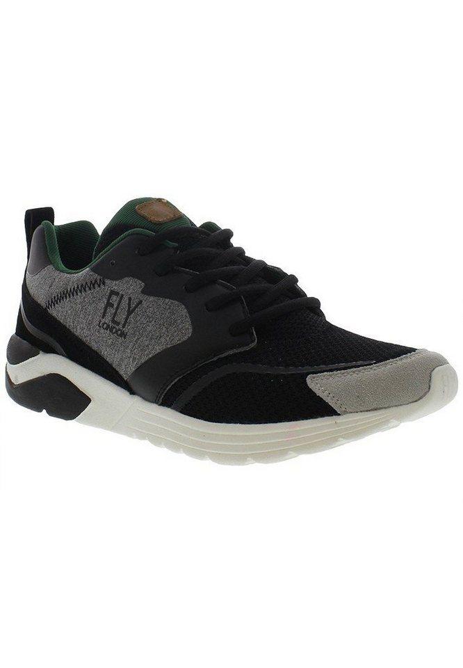 FLY LONDON Sneaker,Schnürschuhe,Herrensneaker,high »SEFA842FLY« in schwarz
