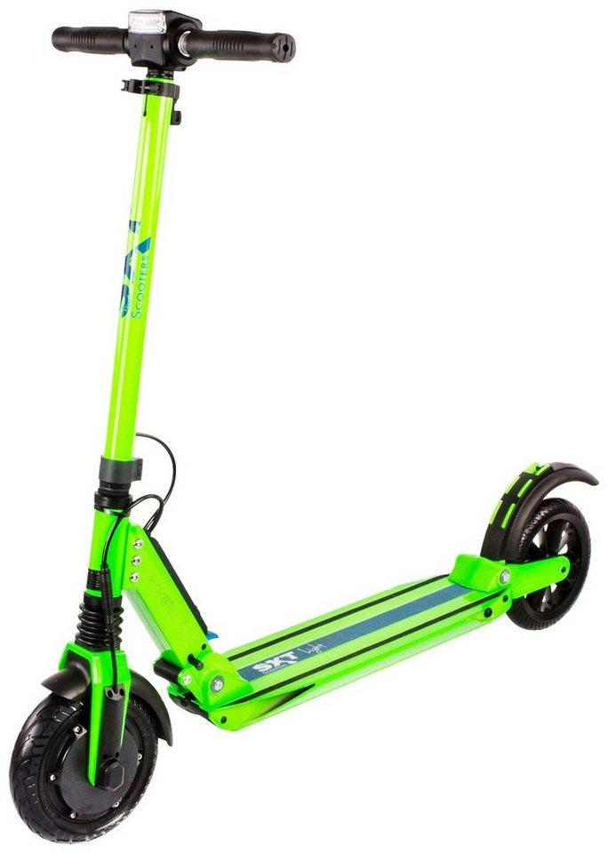 E-Scooter »SXT light Eco«, 350 Watt, 27 km/h in grün
