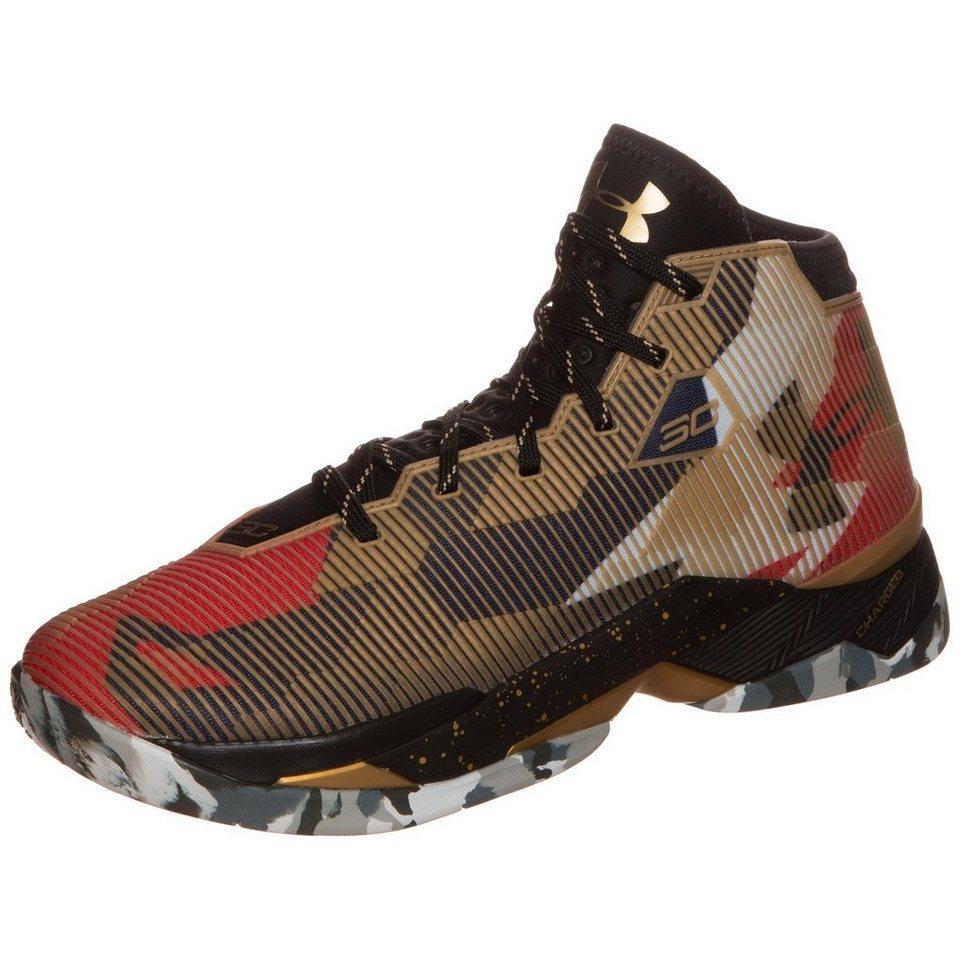 Under Armour® Curry 2.5 Basketballschuh Herren in gold / schwarz