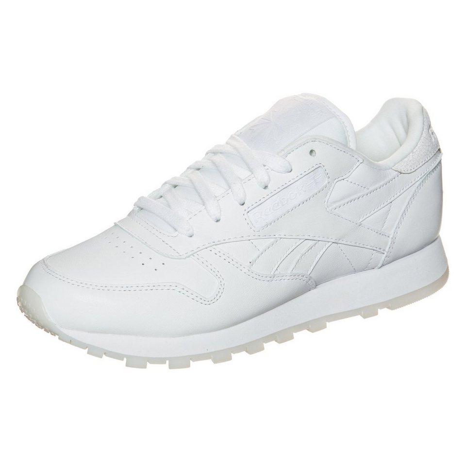 REEBOK Classic Leather Face Sneaker Damen in weiß