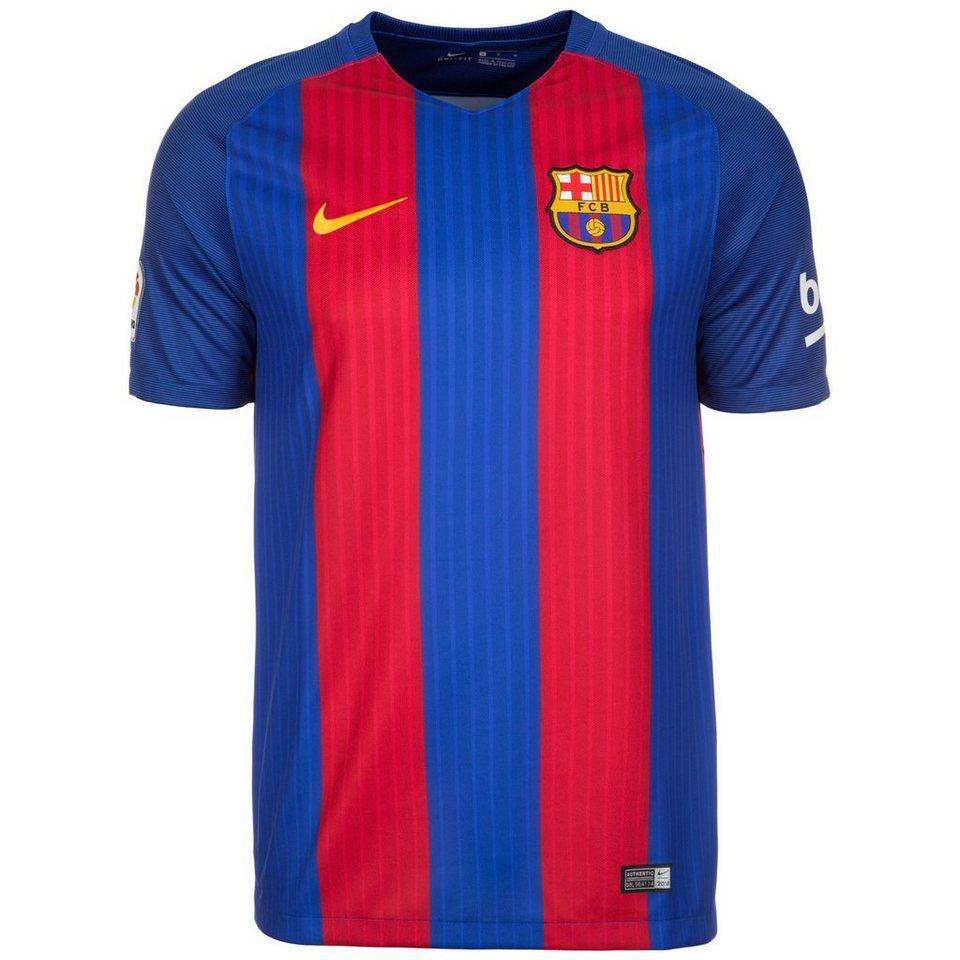 NIKE FC Barcelona Trikot Home Stadium 2016/2017 Herren in blau / rot / gold