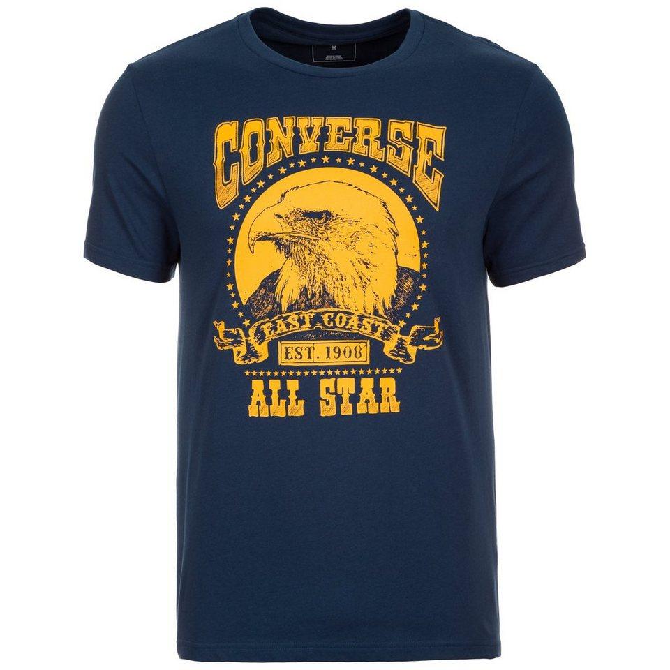 CONVERSE Eagle Music Heritage T-Shirt Herren in dunkelblau / gelb