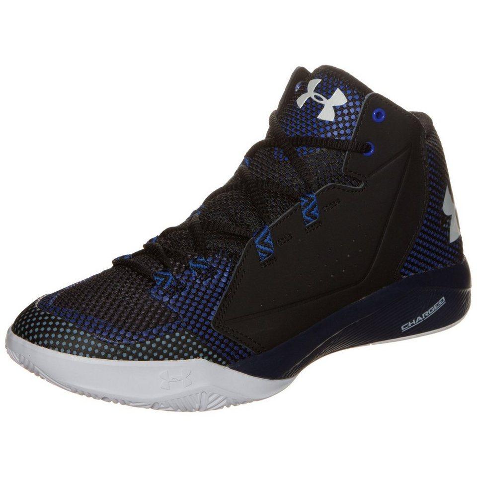 Under Armour® Torch Fade Basketballschuh Herren in schwarz / blau