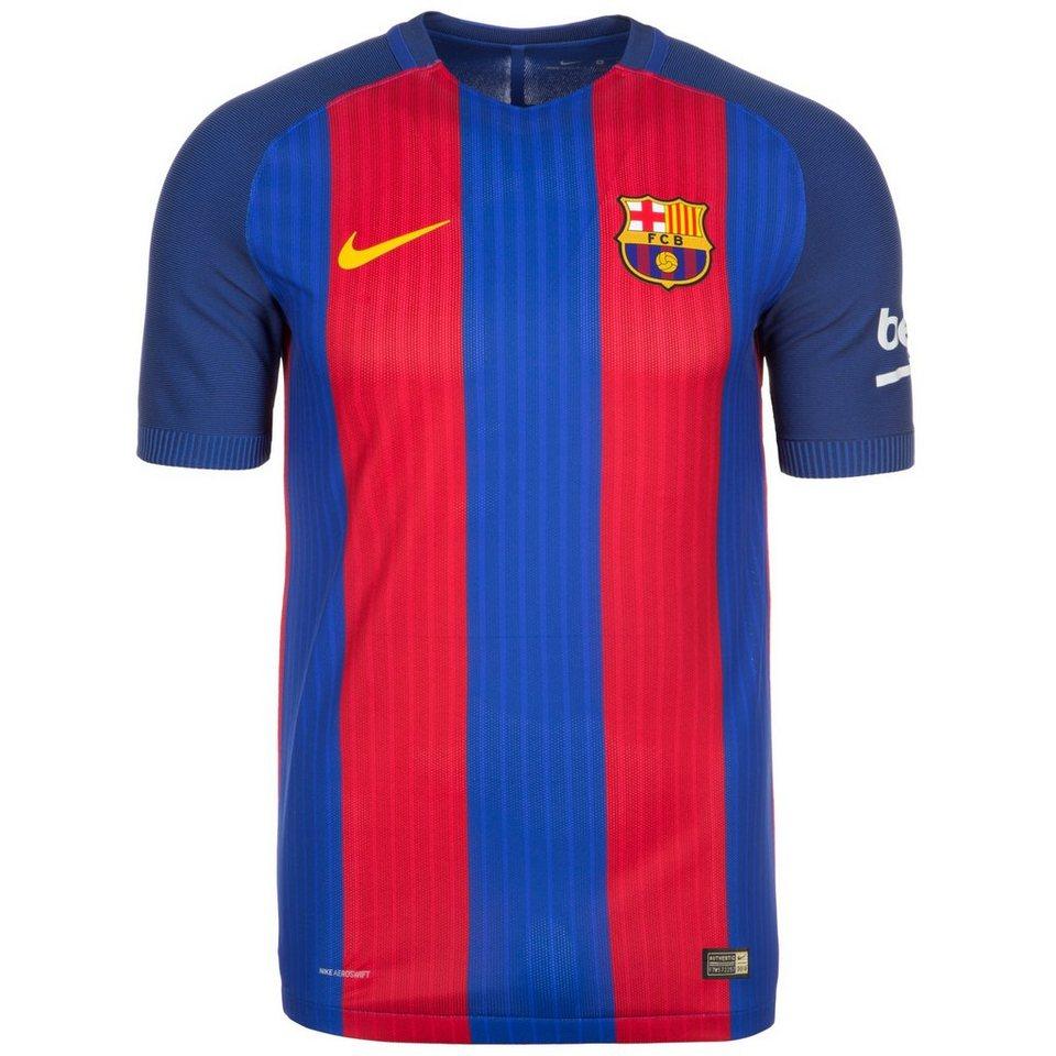 NIKE FC Barcelona Vapor Match Trikot Home 2016/2017 Herren in blau / rot / gold