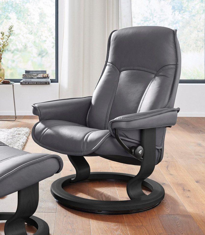 stressless relaxsessel senator mit classic base gr e s mit schlaffunktion online kaufen otto. Black Bedroom Furniture Sets. Home Design Ideas