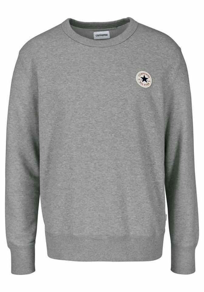 Converse Sweatshirt aus besonders weichem Material in grau