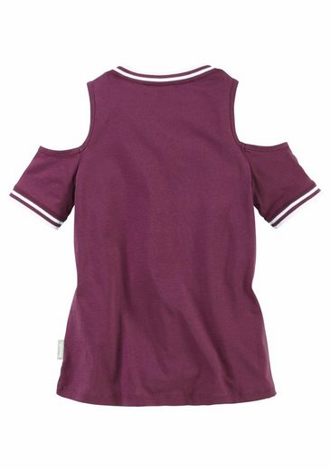 Bench. T-Shirt, mit coolen Cut-Outs