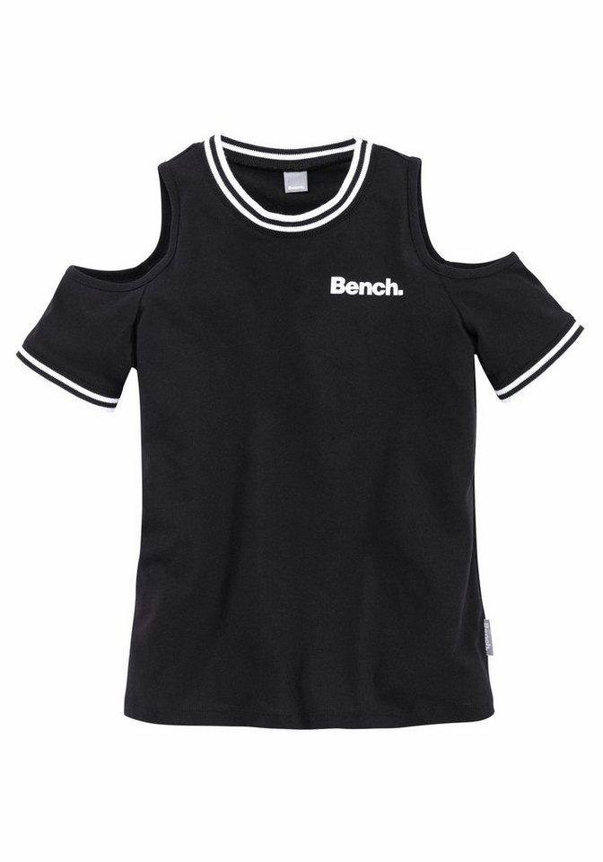 bench t shirt mit modischen cut outs kaufen otto. Black Bedroom Furniture Sets. Home Design Ideas