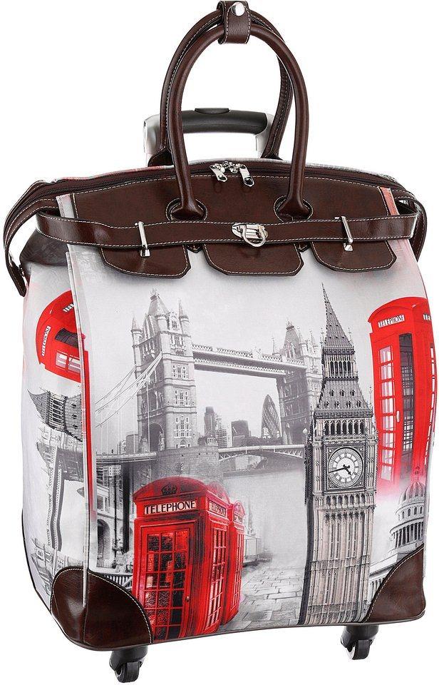 Laura Scott Einkaufstrolley in london