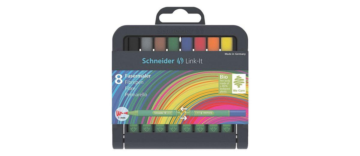 Schneider 8er-Box Fasermaler »Link-It«