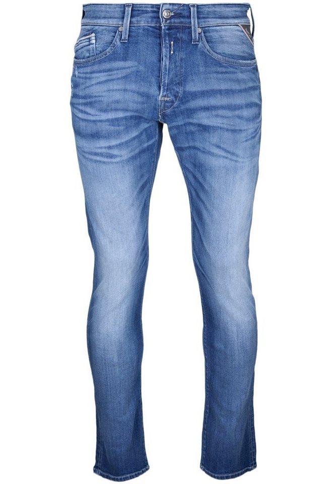 REPLAY Jeans »WAITOM« in used denim